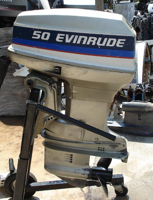 50 Hp Evinrude Outboard Boat Motor For Sale Pictures