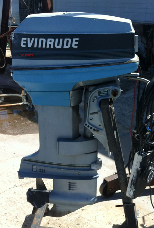 Evinrude Outboard Motors For Sale >> Used 50 hp Evinrude Outboard Boat Motors For Sale.