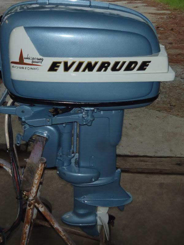 Vintage evinrude outboard motors