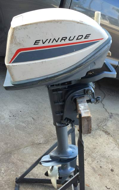 15 hp Johnson outboard Motor Price year is my