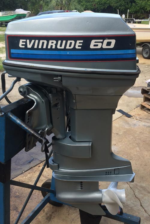 Used 60 Hp Evinrude Outboard Boat Motors For Sale