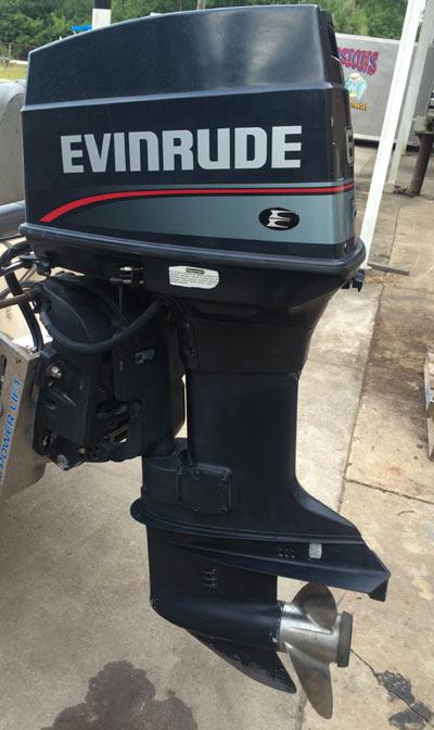 Side on Johnson Evinrude Parts