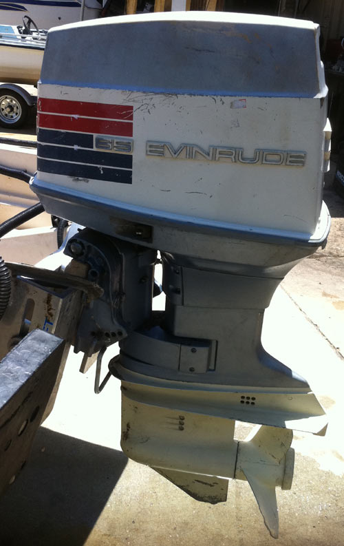 Used 65 Hp Evinrude Outboard Boat Motors For Sale