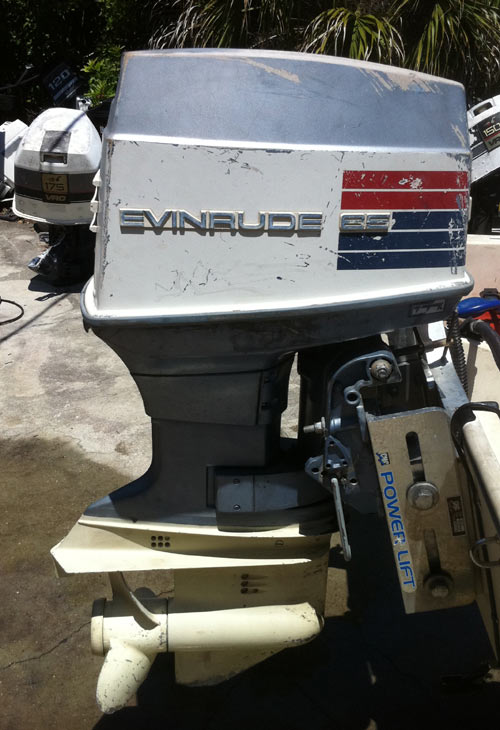 Used 65 hp evinrude outboard boat motors for sale for Used evinrude boat motors for sale