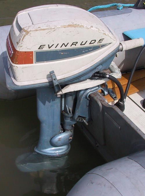 how to clean grease outboard motor
