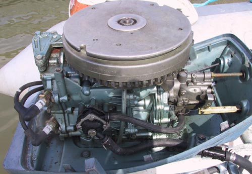 Used 6 hp evinrude outboard motor evinrude boat motors for Used outboard motors for sale in ga