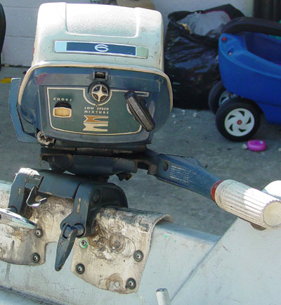 Evinrude 6hp fisherman outboard for 6hp boat motor for sale