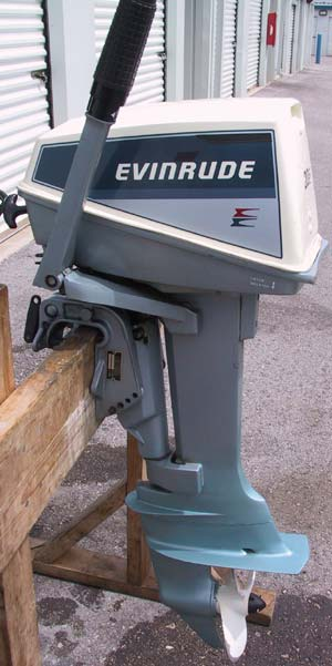 Used 1984 evinrude 6 hp outboard boat motor for sale for Used evinrude boat motors for sale