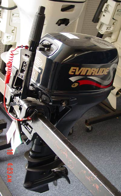 New 8 Hp Evinrude 4 Stroke Outboard Motor For Sale
