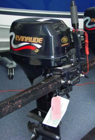 Evinrude Outboard Motors For Sale >> New 8 hp Evinrude 4 Stroke Outboard Motor For Sale