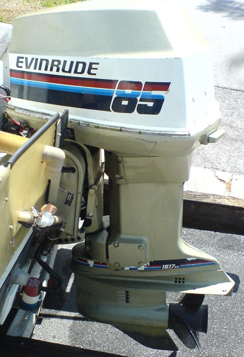how to run an 85 hp evinrude