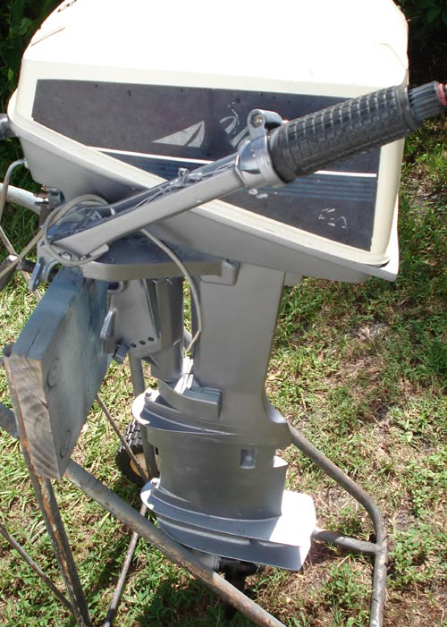 Used Sailboats For Sale >> Evinrude Yachtwin 8 hp Outboard Sailboat Boat Motor