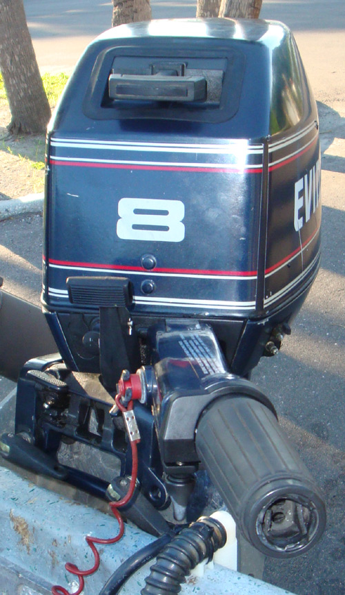 Trade In Value >> 8 hp Evinrude Outboard Sailboat Motor