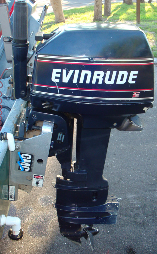 Used Sailboats For Sale >> 8 hp Evinrude Outboard Sailboat Motor