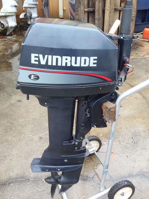 6 hp outboards for sale evinrude for Small 2 stroke outboard motors for sale