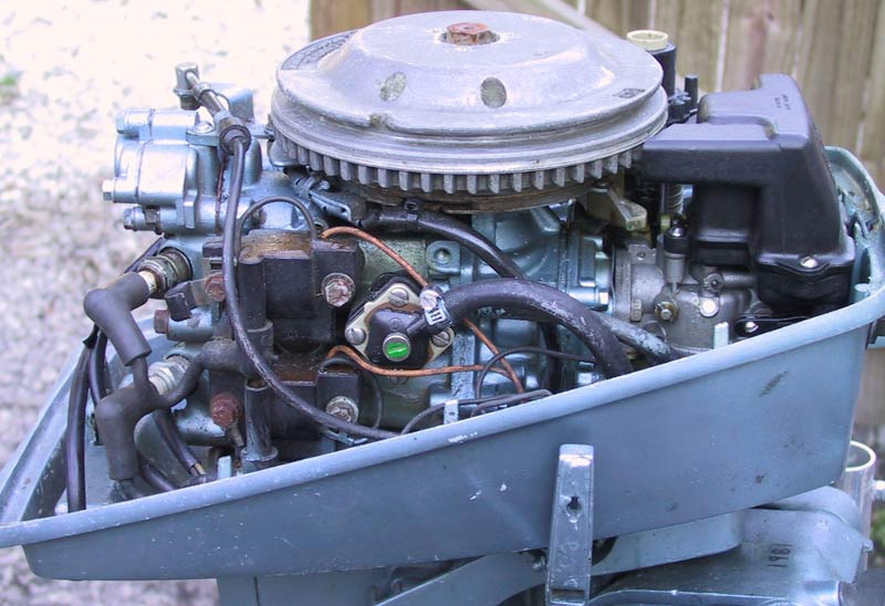 Used Evinrude 7 5 Hp Outboard Long Shaft Boat Engine Motor