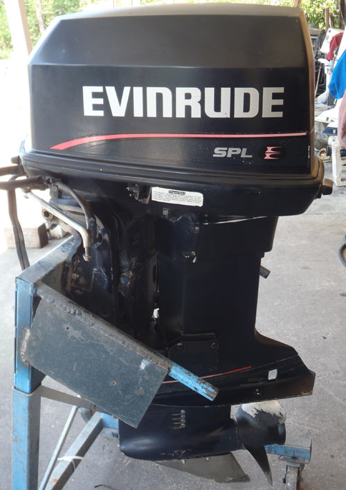 Evinrude 88 hp outboard boat motor for sale for Evinrude 40 hp outboard motor for sale