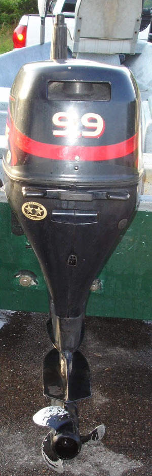 Johnson Boat Motors >> Used Evinrude 9.9 hp Outboard Boat Motor For Sale Used