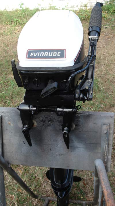 "Evinrude 25 Hp >> 9.9 hp Evinrude Extra Long Shaft 25"" Sailboat Outboard ..."