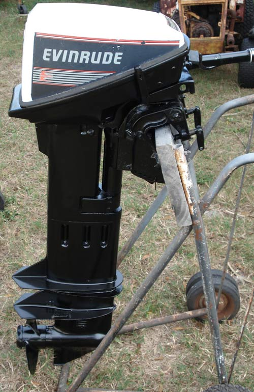Long Shaft Outboard Motors : Hp evinrude extra long shaft quot sailboat outboard