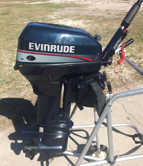 Johnson Outboard Motor Parts >> Used Evinrude 9.9 hp Outboard Boat Motor For Sale Used Evinrude Outboards