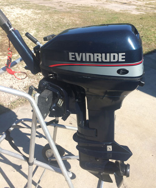 Used Evinrude 9 9 hp Outboard Boat Motor For Sale Used
