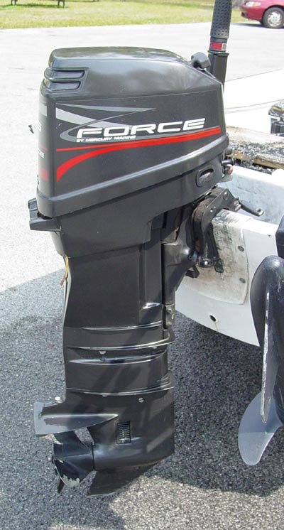 25 Hp Force Outboard 3 Cylinder