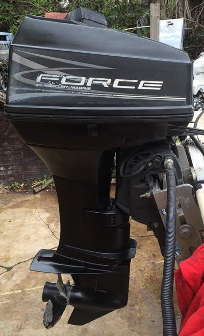 force outboard motors mercury marine force 40 hp outboard motor