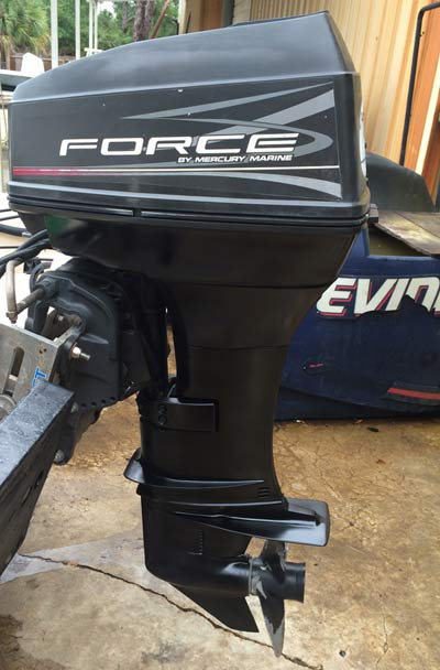 how to fix low compression in an outboard motor