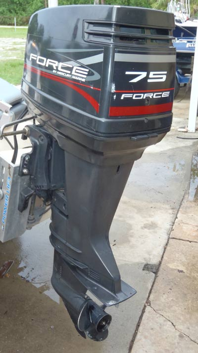 75 hp mercury force outboard rh smalloutboards com Force 125 Outboard Motor Force 125 Outboard Motor