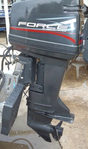 75 Hp Mercury Force Outboard