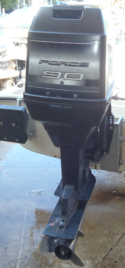 90 Hp Mercury Outboard >> 90 hp Mercury Force Outboard