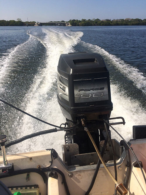 Power Boats For Sale >> 90 hp Mercury Force Outboard