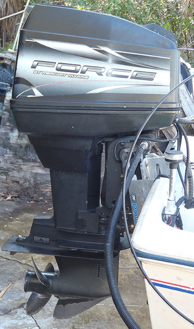 90 hp Mercury Force Outboard