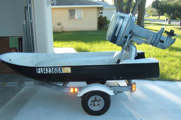 Small Boat For Sale 8 Ft Fliver