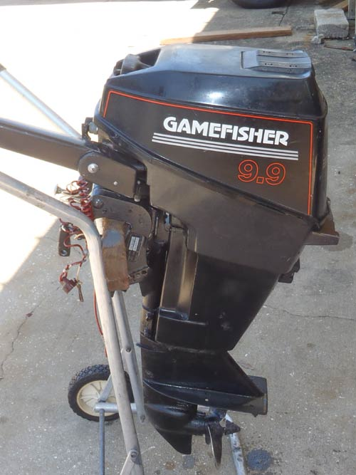 15 Hp Sears Gamefisher Outboard