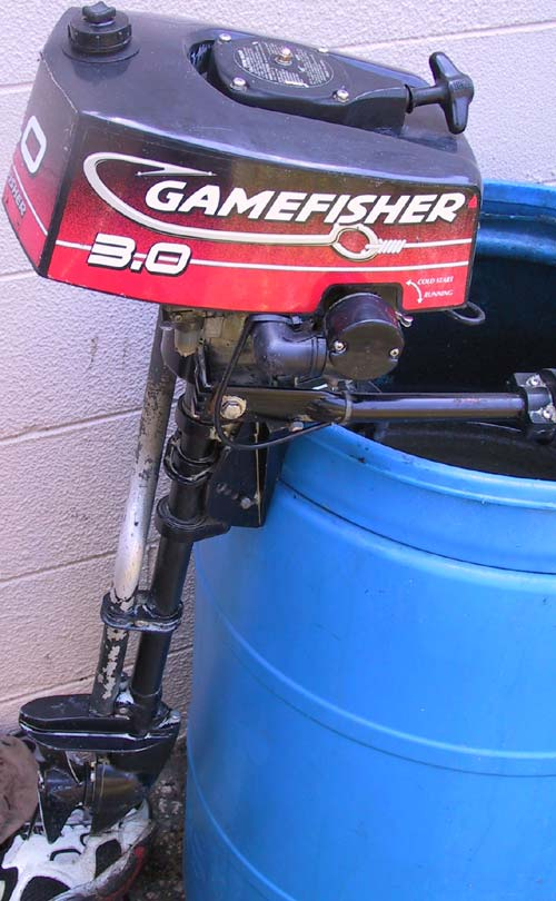 Used 3 Hp Gamefisher Outboard Motor For Sale 3 0 Game Fisher