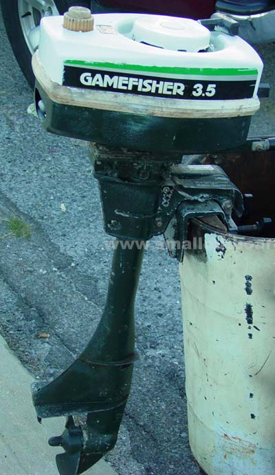 3 5 hp gamefisher Best 15hp outboard motor