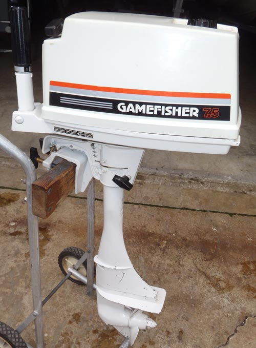 Sears 7 5 Hp Gamefisher Outboard 7 5 Hp Game Fisher Sears