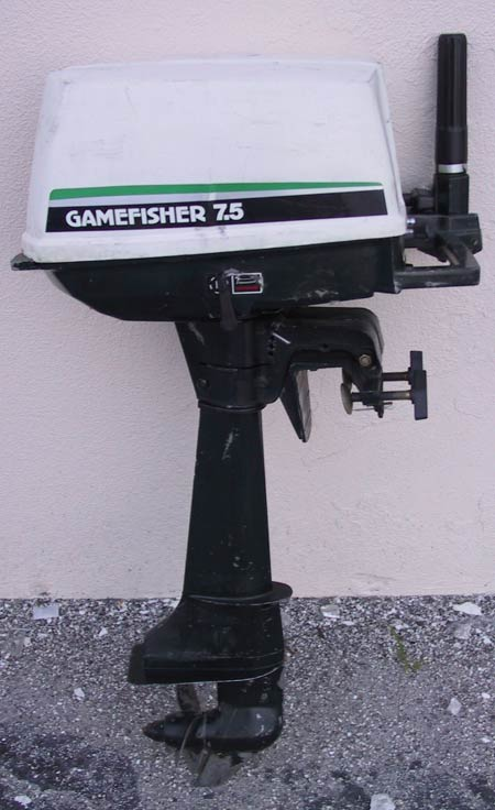 used 7 5 hp gamefisher outboard for sale sears outboard