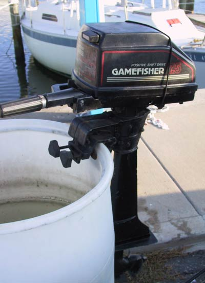 used sears gamefisher 7 1 2 hp outboard boat motor