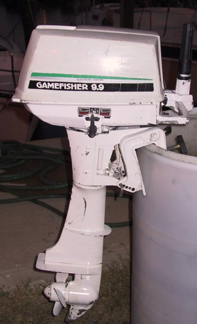 Used Engine For Sale >> Used 9.9 10 hp Sears Gamefisher Outboards Boat Motor For Sale