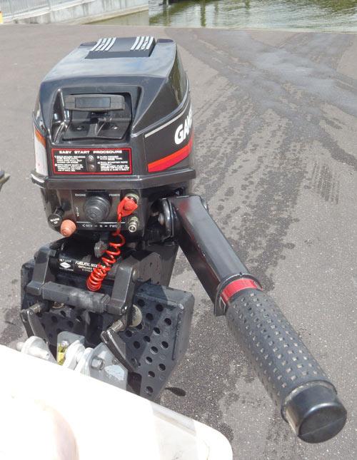 9.9 hp Gamefisher short shaft outboard motor for sale