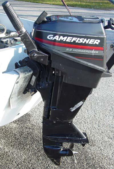 Boat Motor  Gamefisher Boat Motor