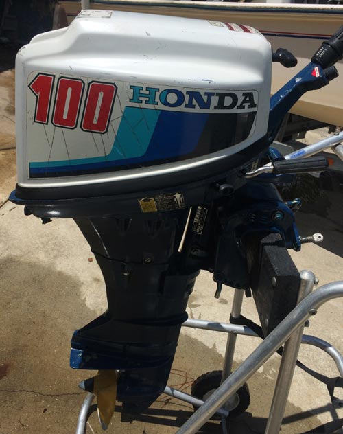 9.9hp Honda Outboard