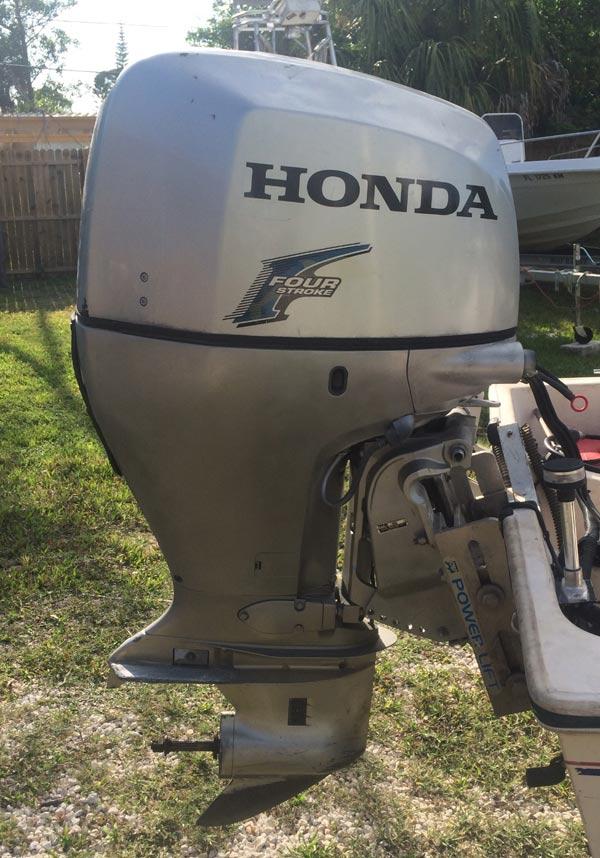 135 hp honda 4 stroke outboard boat motor for sale for Used honda boat motors for sale