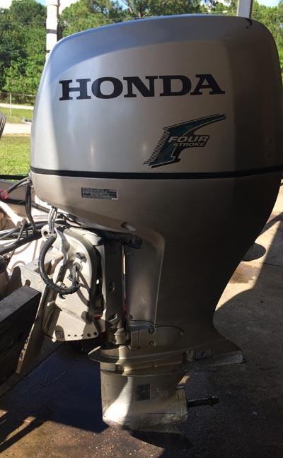 135 hp Honda 4-Stroke Outboard Boat Motor For Sale