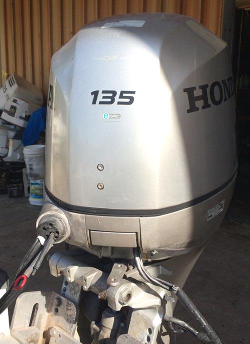 135 Hp Honda 4 Stroke Outboard Boat Motor For Sale