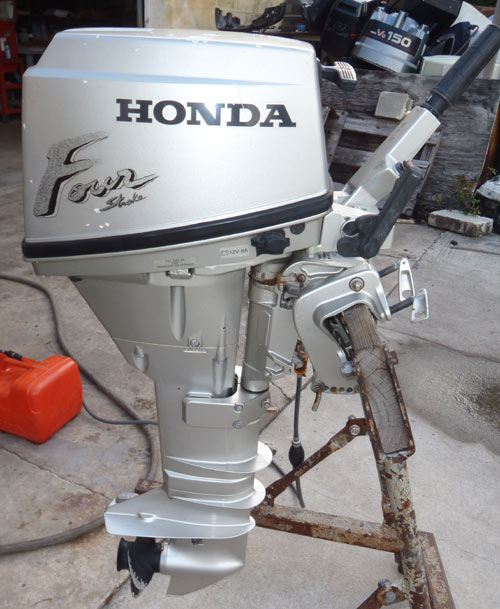 15hp honda outboard for sale for Small honda motors for sale