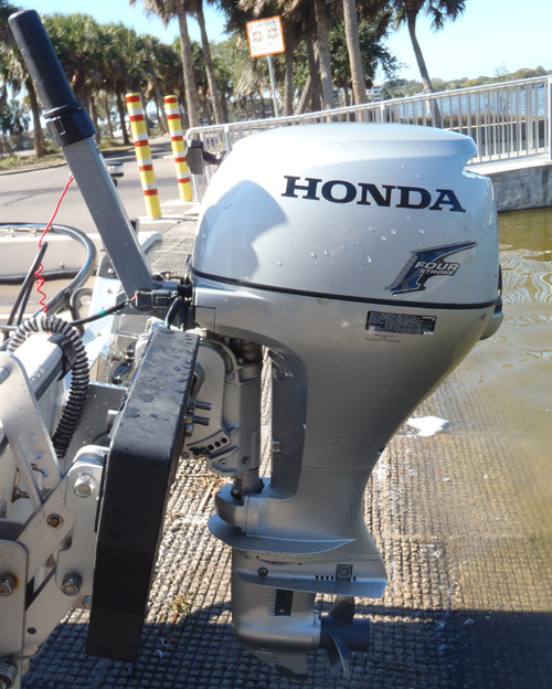 Used Small Boat Engines For Sale: 20hp Honda Outboard For Sale